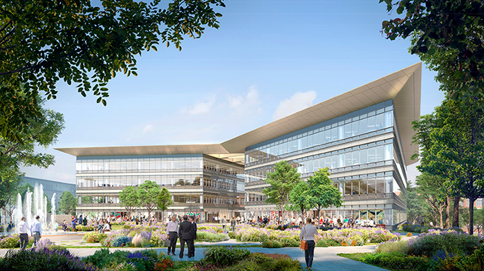 County Square Administrative Building Rendering