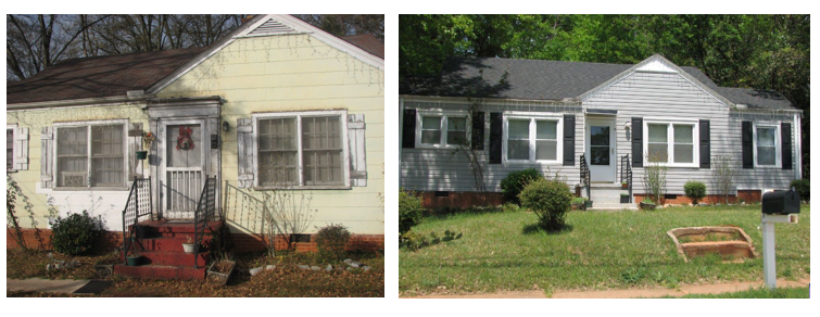 Owner Occupied Rehab Before and After